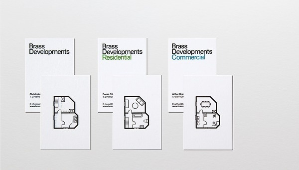 Brass Developments — Glad #card #letter #business #press