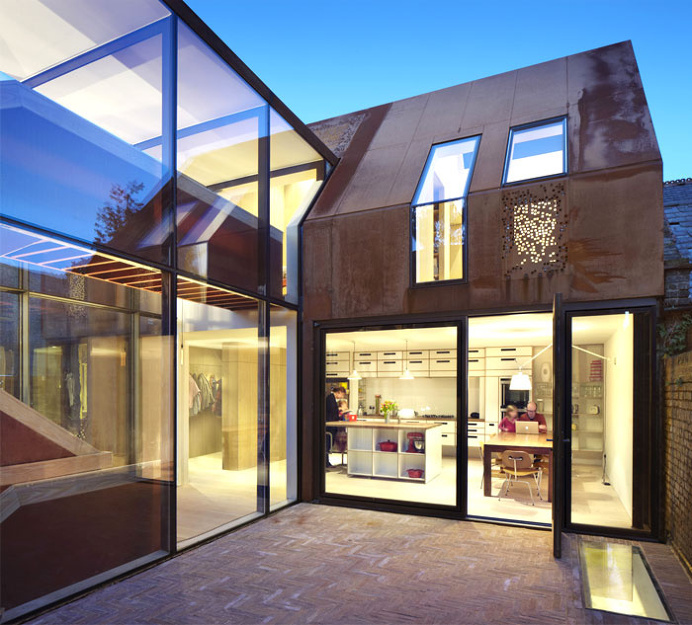 Intriguing and Unexpected Architectural and Design Solution in London - architecture, house, house design, dream home, #architecture