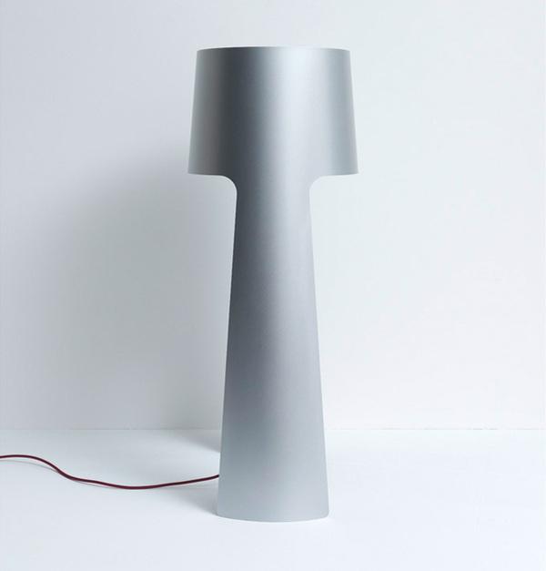 Modern Lamp #lamp #modern #silver #design #contemporary #lighting #light