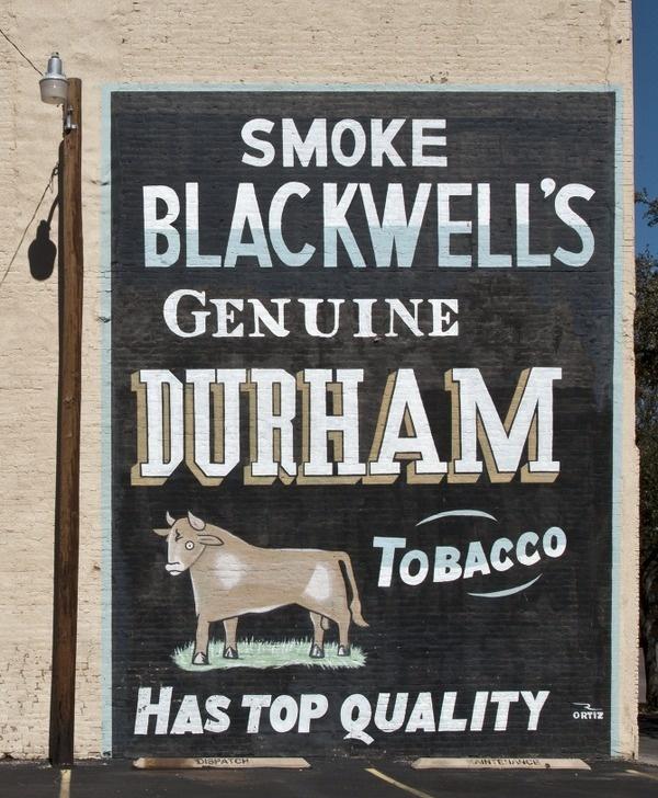 west texas typography Nil Santana #blackwells #mural #durham