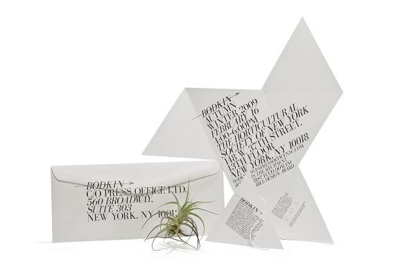 Bodkin FW'09 Lookbook   RoAndCo Studio #print #design #stationery