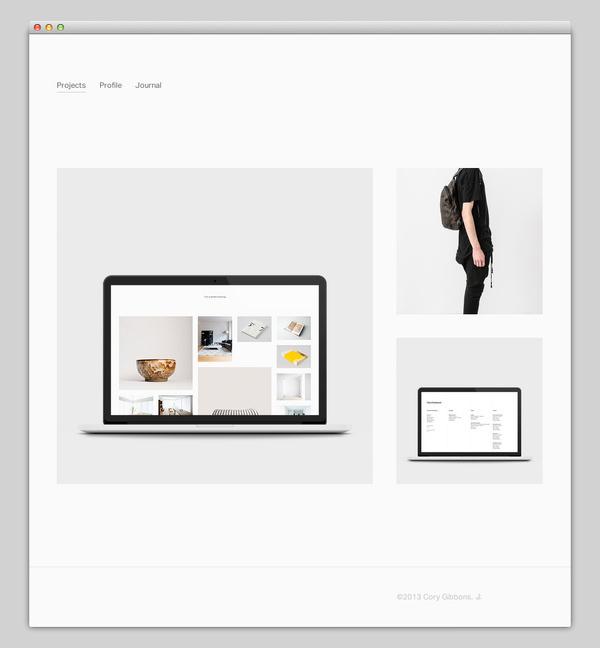 Cory Gibbons #website #layout #design #web