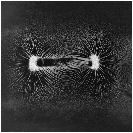The universe is not being pushed from behind; it's being pulled... - but does it float #monochrome #photography #magnetism #physics