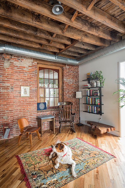 1880's warehouse turned live-work studio