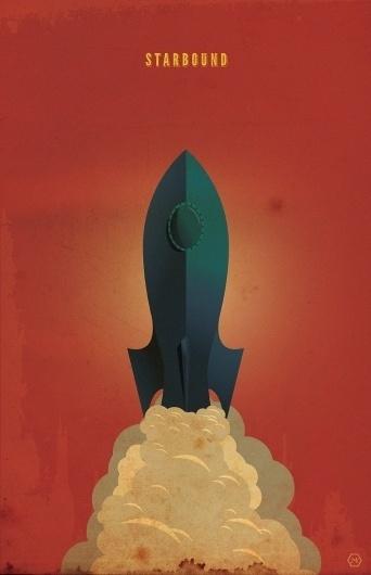 rocketshipposter2.jpg (JPEG Image, 792×1224 pixels) #ship #rocket