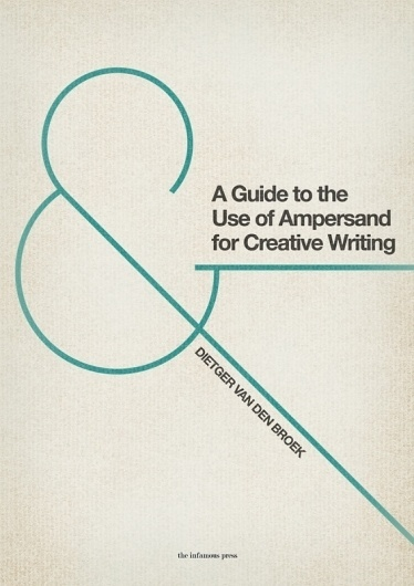 All sizes | A Guide to the Use of Ampersand... | Flickr - Photo Sharing! #poster #typography