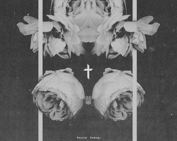 Trent Alexander Hernandez #print #type #design #floral #poster #symmetry