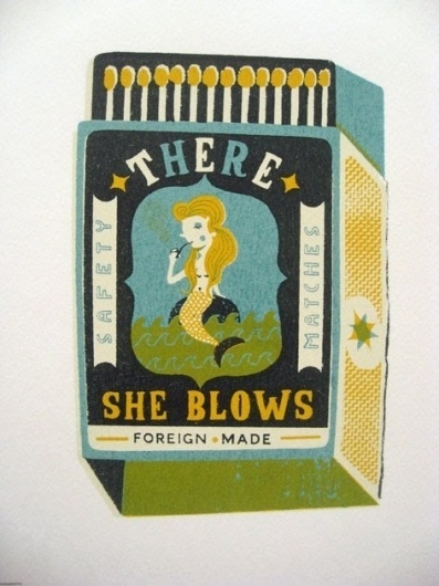 design work life » Tom Frost Matchbox Illustrations #illustration #design #vintage #art