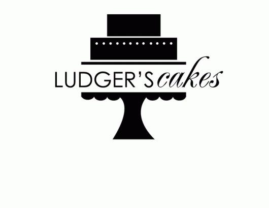 Ludger's Cakes   Logo #arnold #cakes #ludgers #design #graphic #tulsa #logo #gourmet #oklahoma
