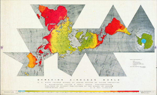 Google Image Result for http://marta herford.info/wp content/uploads/2011/03/WorldMap1.jpg #buckminster #dymaxion #fuller #map