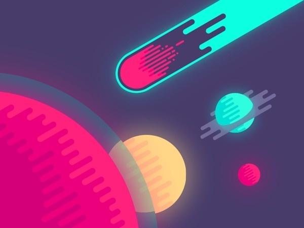 Meteor #illustration