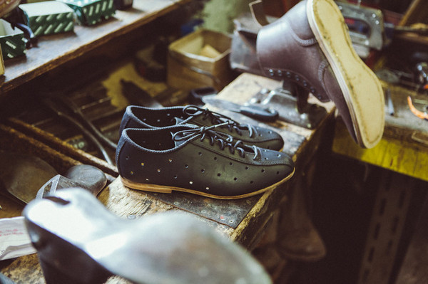 The Hibell Shoe #mamnick #craft #photography #leather #bike #show #cycling