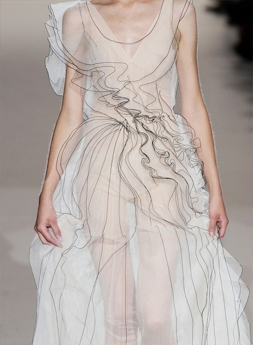 Fuck Yeah Fashion Couture #fashion #white