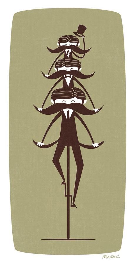 Handlebar - Mark Cavell #mark #cavell #mustache #bike #funny