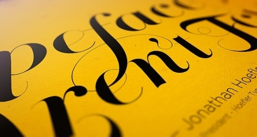 Type Merge Specimens on Typography Served #type