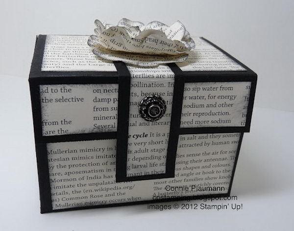 Paper Treasure Box - 40+ Creative DIY Favor Boxes #diy #treasure #box #favor