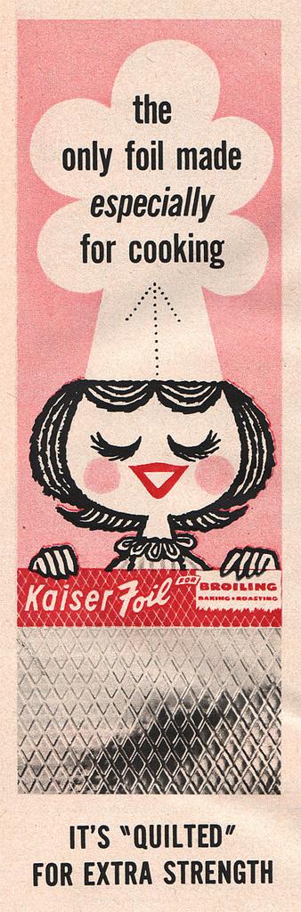 All sizes | Kaiser Foil ad | Flickr Photo Sharing! #illustration