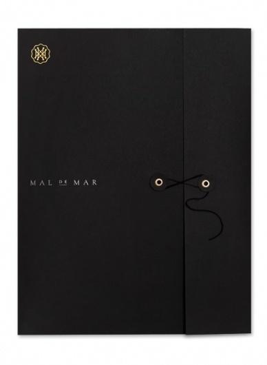 Mal de Mar. on the Behance Network #stationary #logo #branding