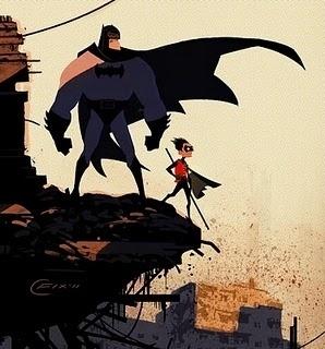 Knuckle Deep #illustration #batman