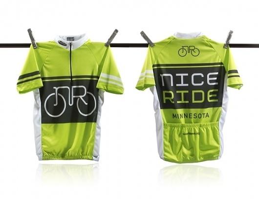 AIGA   Case Study: Nice Ride #logo #ride #nice #bike