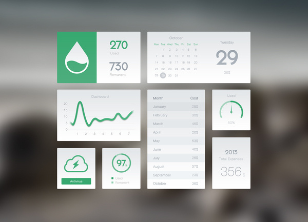 Managing_dashboard_full_size #flat #white #ui
