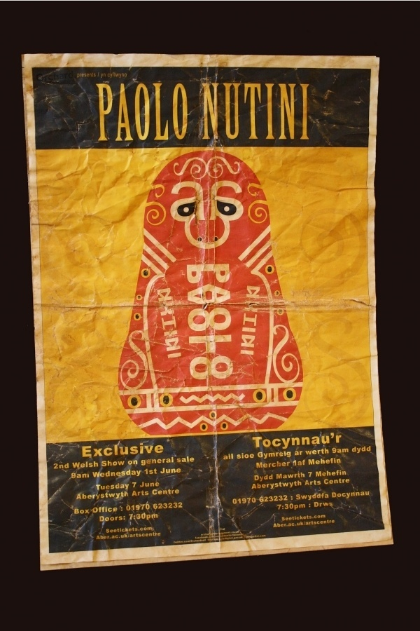 All sizes | Paolo Nutini Poster | Flickr - Photo Sharing! #paolo #folk #russian #doll #nutini #art #poster #czechoslovakian #typography