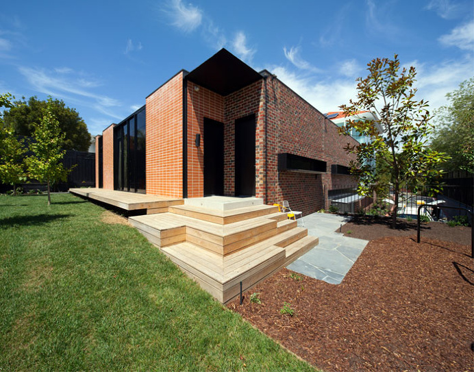 Brick House Dynamic Interior - #architecture, #house, #home, home, architecture