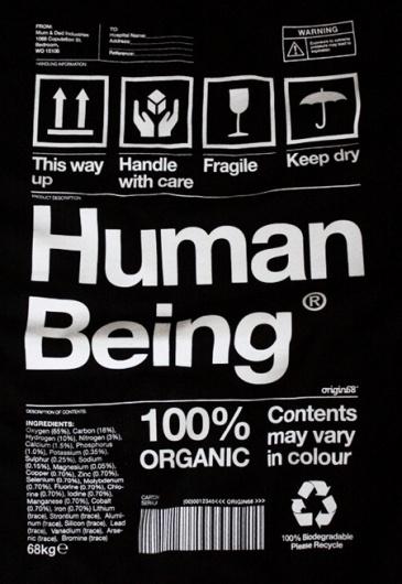 Human Being   AisleOne #human #helvetica #tshirt