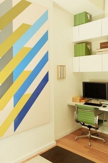 Friday Inspiration 30 | Jared Erickson #furniture #office #mural #wall