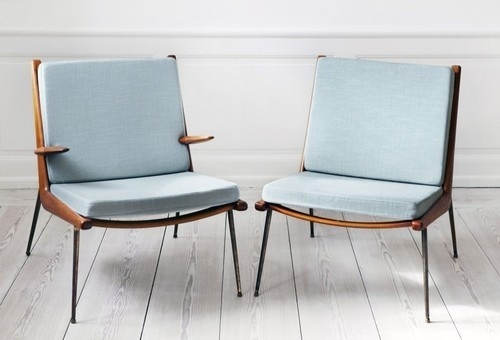 Perfect chairs #interior #metall #pale #chairs #blue #light