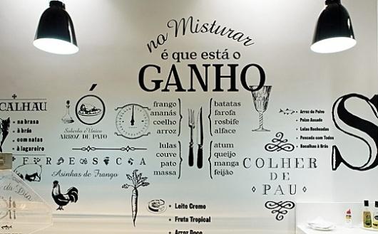 Enviromeant » Blog Archive » SóPeso Restaurant #interiors