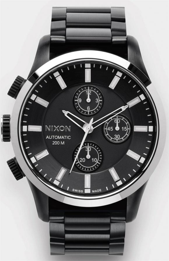 Nixon have ok watches #black #timepiece #nixon #watch #chronograph