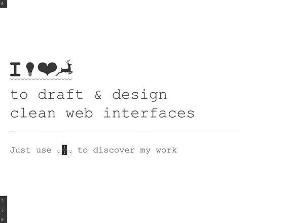 22 Beautiful Portfolio Websites to Inspire You #interactive #portfolio #design #clean #parallax