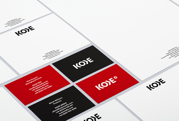 Kode by Bunch and Sebazzo #brand design #stationery