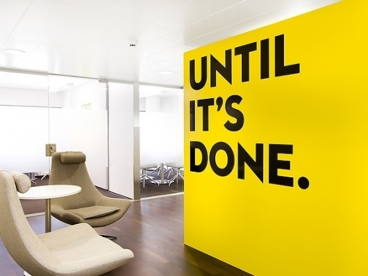 Attido on the Behance Network #quote #yellow