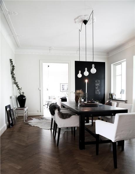 The Design Chaser: Wooden Flooring | Three Ways #interior #design #decor #deco #decoration