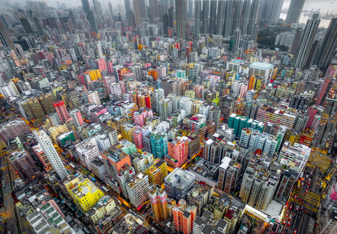 Andy Yeung Captures Hong Kong's High Rise Buildings With Drones