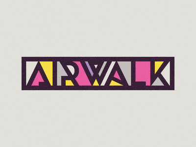 Airwalk Type #lettering #airwalk #colors #type #typography