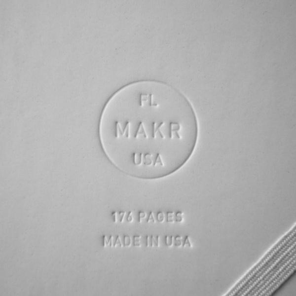 Makr Sketchbook – Hunter – Made in the USA #makr