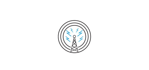 Logos. on Behance #radio #electric #branding #logo #brand #type