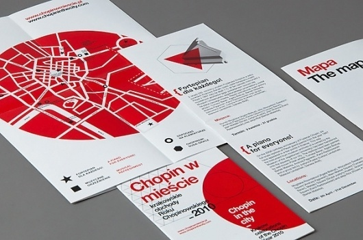 Looks like good Graphic Design by Michal Sycz #white #red #michal #black #map #minimal #sycz