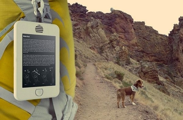 Whether it's backpacking, hiking, or weekend exploring, the Earl tablet is as ready to face the great outdoors as you are! #design #backpacking #travel #exploring #tablet #hiking #product #industrial #outdoor