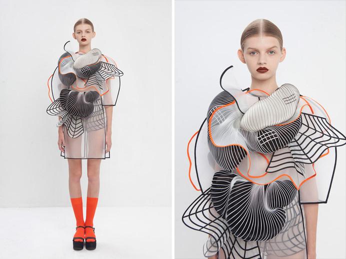 noa raviv stratasys hard copy fashion collection 3d printing israel #printed #3d