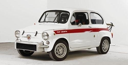 Convoy #fiat #vintage #automobiles #abarth