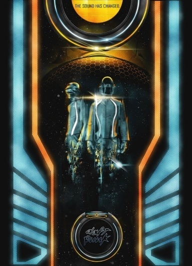 Tron Legacy: Daft Punk's Derezzed Collection | Abduzeedo | Graphic Design Inspiration and Photoshop Tutorials