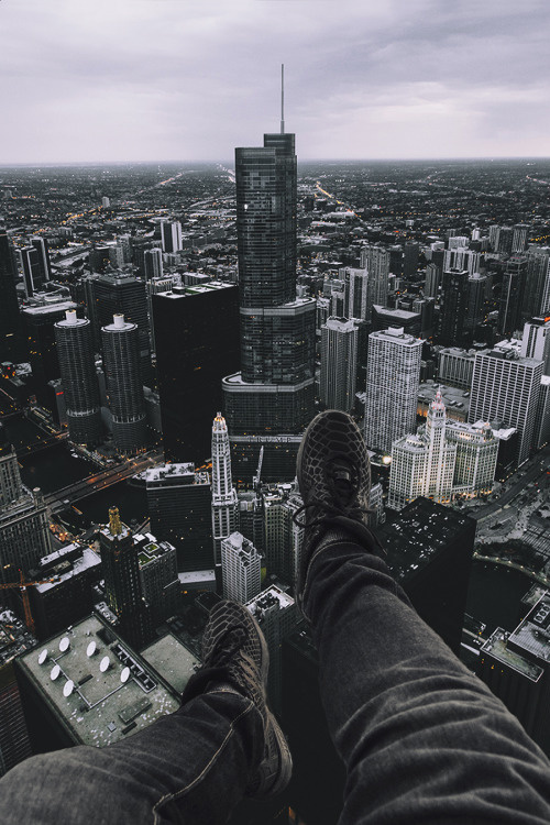 Over Chi-Town by Johnny Castle.