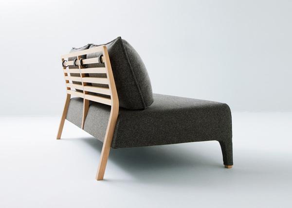 Line Collection by Mikiya Kobayashi #sofa #minimal