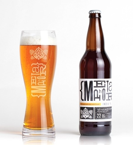 Metaphor IPA #packaging #beer #alcohol #label