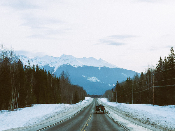 the road home. #canada #road #landscape #nature #photography #mountains #vsco