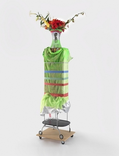 Artists — Isa Genzken — Images and clips — Hospital (Ground Zero) — Hauser & Wirth #sculpture #flowers